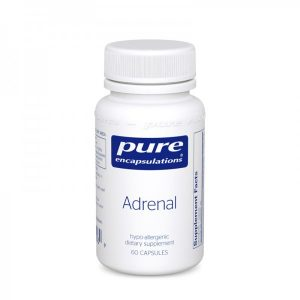 Adrenal glands extract with enzymes